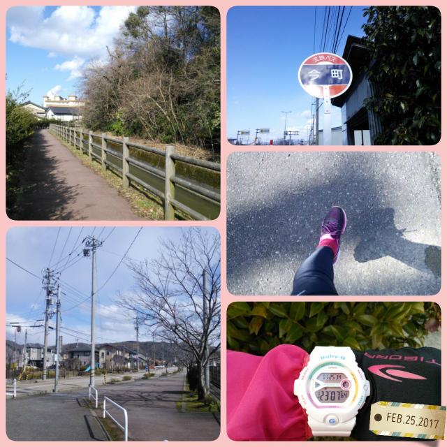 今日は10km走りました♪
