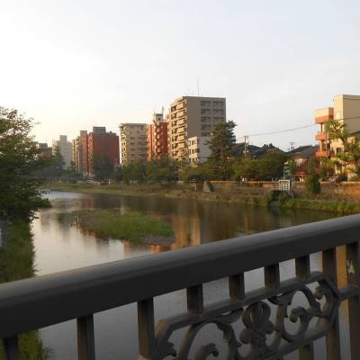 朝の浅野川・その2♪