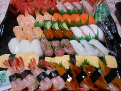 平和堂のお寿司♪