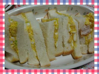 わが家のサンドイッチ♪