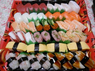 お寿司はネタが新鮮でした♪