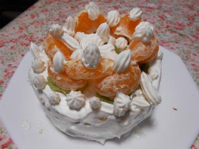 今年のデコレーションケーキ♪