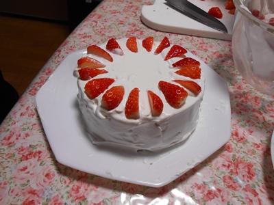 2020年クリスマスケーキ作り_その1♪