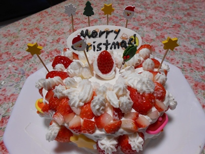 2020年クリスマスケーキ作り_完成♪